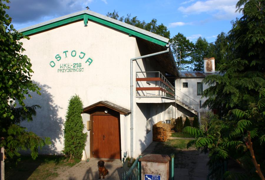 Obecny domek w obwodzie nr 3.