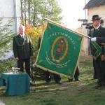 Wręczenie sztandaru w 2008 roku